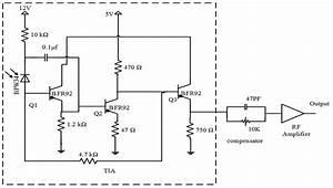 Receiver Circuit A  Circuit Diagram  B  Pcb Printed