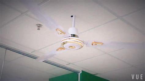 Home Energy Saving V White Ceiling Fan With Led Light