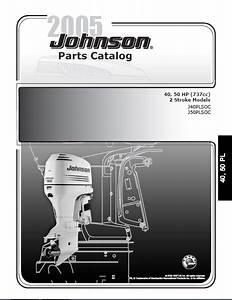 2005 Johnson Evinrude 40  50hp 2
