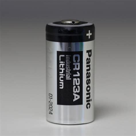 pile lithium 3v pile lithium 3v 1400mah cr123a panasonic industrial accu66