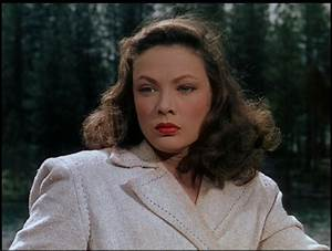 GENE TIERNEY in LEAVE HER TO HEAVEN (1945) | CANON MOVIES