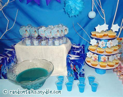 My Frozen Birthday Party Ideas Under $100  Random Talks