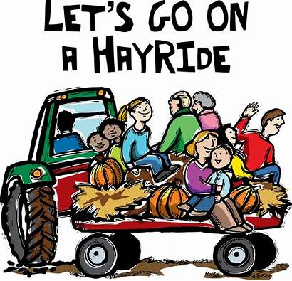 Hayride Clipart Hay Fall Ride Wagon September