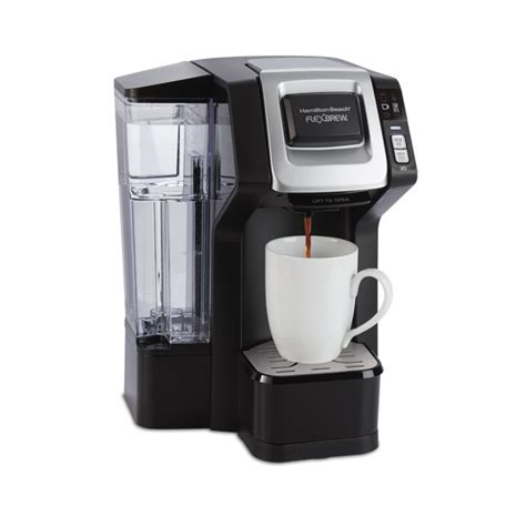 This hamilton beach flexbrew coffee maker also has separate water reservoirs for each this hamilton beach flexbrew coffee maker also has a warming plate that can heat up your carafe. Hamilton Beach FlexBrew Single-Serve Coffee Maker Model ...