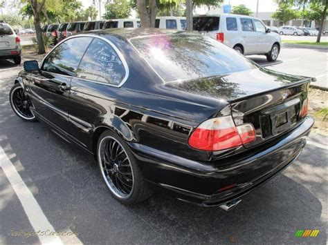 2003 bmw 3 series 325i coupe in jet black photo 3