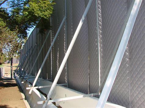 outdoor noise reduction construction noise control exterior noise panels