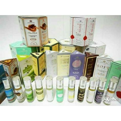 Minyak Wangi Al Rehab Silver original arab parfum al rehab roll on 6ml 6 ml minyak