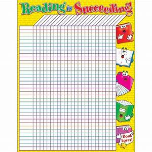 Reading Is Succeeding Incentive Friendly Chart