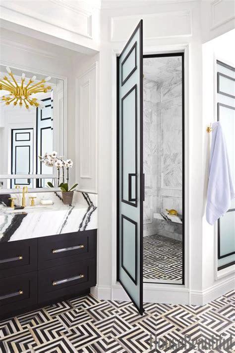 black  white bathroom ideas black white tile