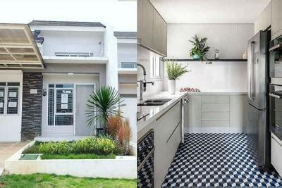 desain rumah minimalis bernuansa abu abu  inspirasi