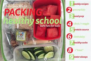Tips for Packing Healthy School Lunches Your Kids Will ...