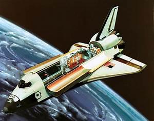NASA concept art before CGI   Spaceplanes   Pinterest
