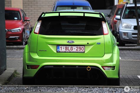 Tuned Focus Rs by Ford Focus Rs 2009 Berghen Tuning 16 August 2013