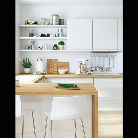 cuisine blanche et best 20 cuisine blanche et bois ideas on
