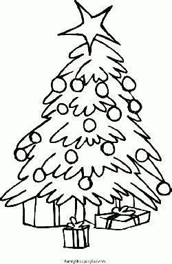 christmas tree gifts christmas coloring pages  printable ideas  family shoppingbagcom