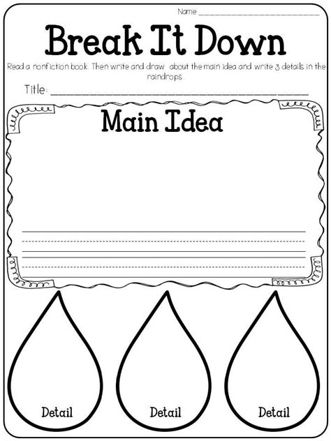 april reading printables graphic organizers nonfiction and students