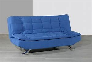 Pin blue sofa beds on pinterest for Royal blue sofa bed