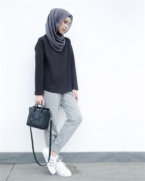 casual hijab styles ideas  pinterest