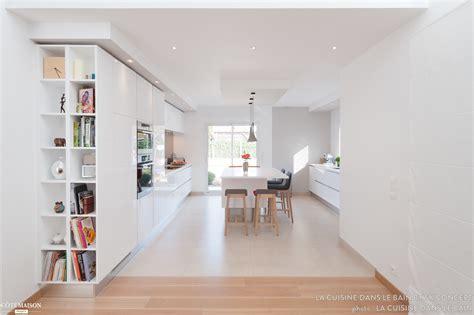 am 233 nagement d une maison moderne et design cuisine salon salle de sk concept la