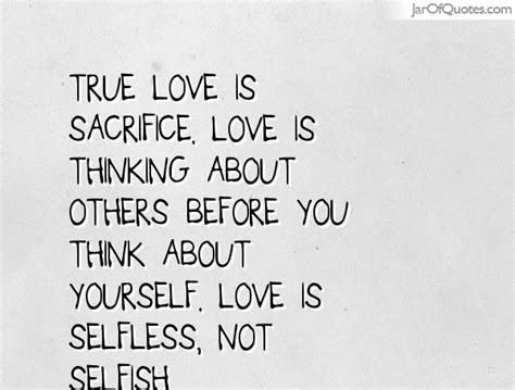 Thinking Of Others Before Yourself Quotes