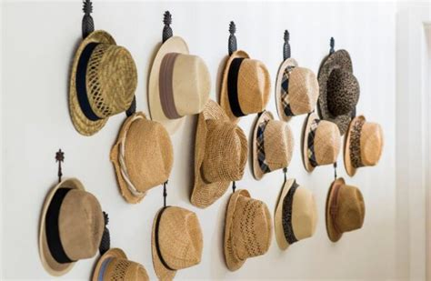 hat rack ideas 20 cool and affordable diy hat rack ideas cuethat