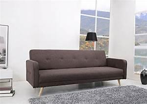 Sofa Federn Kaufen : oslo schlafcouch stoff fuscous braun grau schlaffunktion sofa online kaufen bei woonio ~ Markanthonyermac.com Haus und Dekorationen
