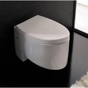 Modern wall mounted white ceramic zefiro toilet zuri for Wall mount toilet