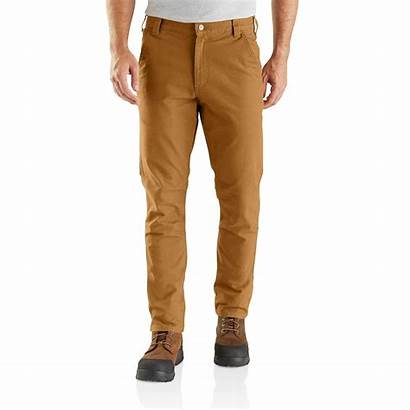 Carhartt Rugged Pants Straight Dungaree Duck Flex