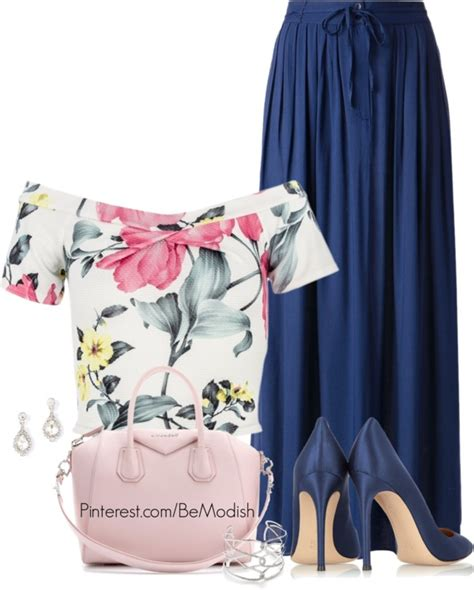 15 Polyvore Outfits with Maxi Skirts to Wear This Summer