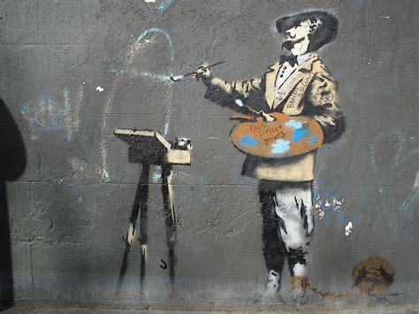 Street Art By Banksy - London (United Kingdom) - Street ...