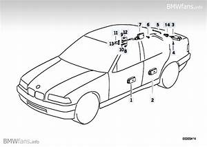 Central Locking System Bmw 3 U0026 39  E36  318is  M42   U2014 Bmw Parts