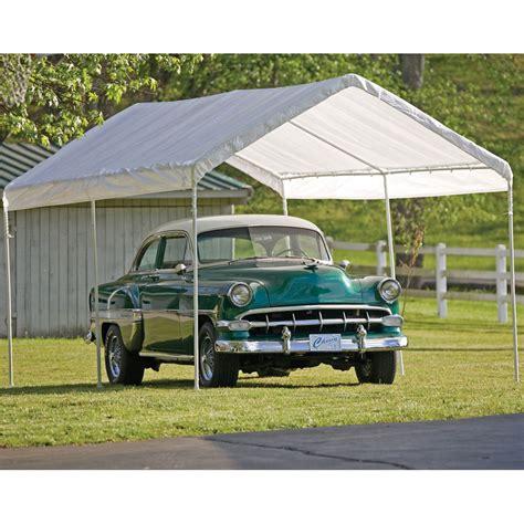 shelterlogic instant garage carports