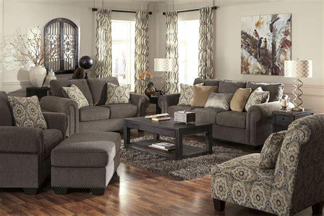 Emelen Alloy Living Room Set From Ashley (