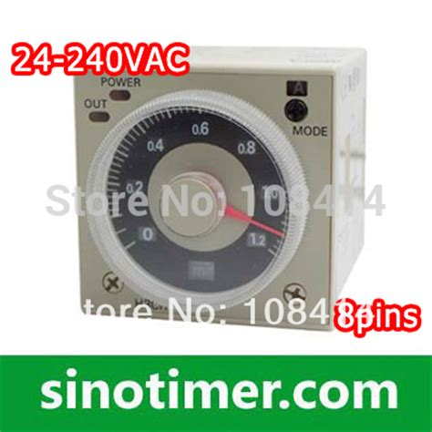 timer relay omron h3cr a8 aliexpress buy 24 240vac dc 1 2 s to 300h omron