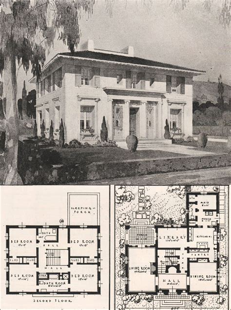 italian house plans italian renaissance style house francis pierpont davis 1916 california architecture