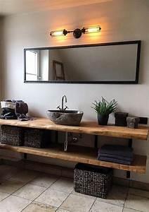 Waschtischplatte Holz Massiv : die besten 25 waschtisch holz ideen auf pinterest holz ~ Lizthompson.info Haus und Dekorationen