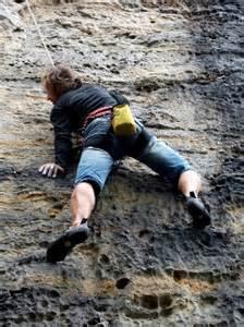 Rock Climbing Elbe Sandstone Mountains