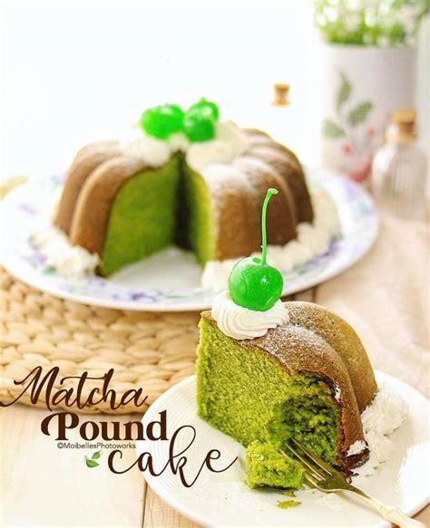 matcha pound cake  pingkan  aditya langsungenakcom