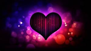Valentine Love Heart for Background HD Wallpaper of Love ...