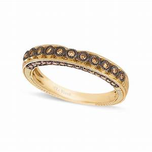 Le Vian Chocolate Diamond Wedding Band 14 C Tw In