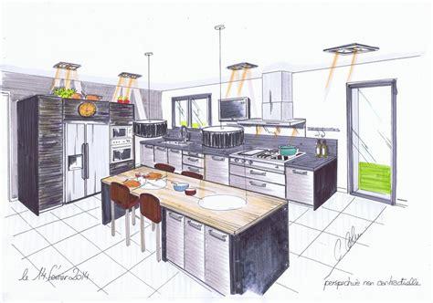 plan cuisine 3d gratuit dessiner cuisine 3d dessiner en perspective une cuisine