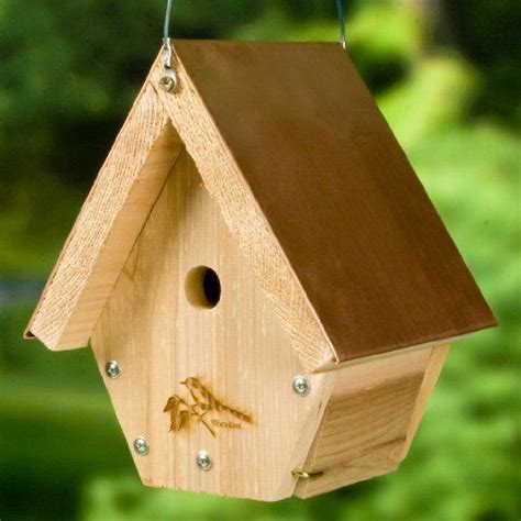 47 24 47 90 woodlink wren house cedar bird house with