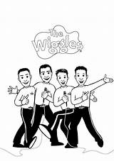 Wiggles Coloring Pages Colouring Drawing Printable Mr Drawings Getcolorings Paintingvalley Popular sketch template