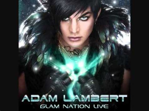 adam lambert down the rabbit hole adam lambert glam nation live down the rabbit hole