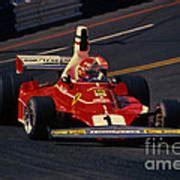Austrian niki lauda was the reigning world champion and was driving a ferrari 312 t2 designed by mauro forghieri. Niki Lauda- Ferrari 312T2-1976 Long Beach Grand Prix Photograph by Howard Koby