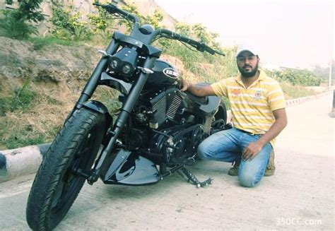 Bike Modifications Delhi by Indian Choppers Delhi Bobby