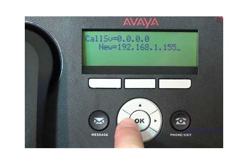 avaya 9600 baixar do firmware version