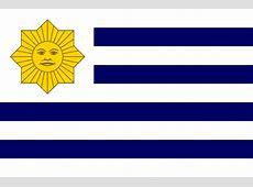 Banderas de Blancos y Colorados en Uruguay