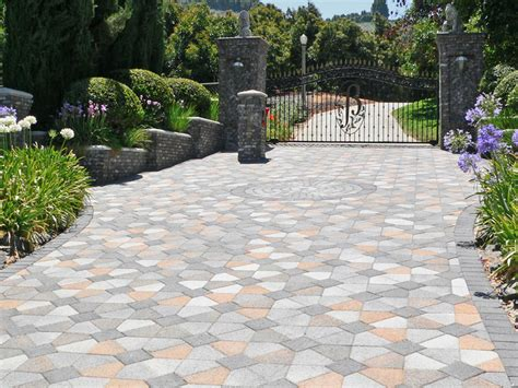 driveway paver designs pavers driveway construction company northern va