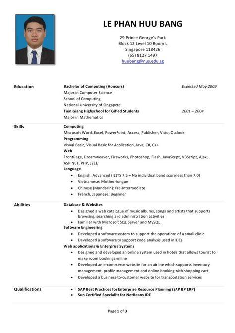 resume engineer malaysia  resume examples